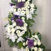 condolence funeral sympathy wreath stand