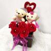 Teddy Bear Bouquet With Flowers