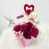Rose with cut teddy