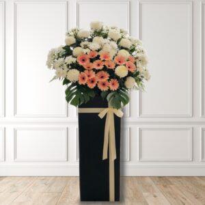 condolence funeral sympathy wreath stand CO1034